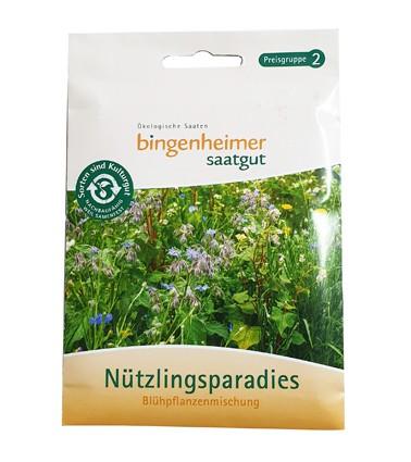 Nützlingsparadies Blühpflanzenmischung (Bio-Saatgut)