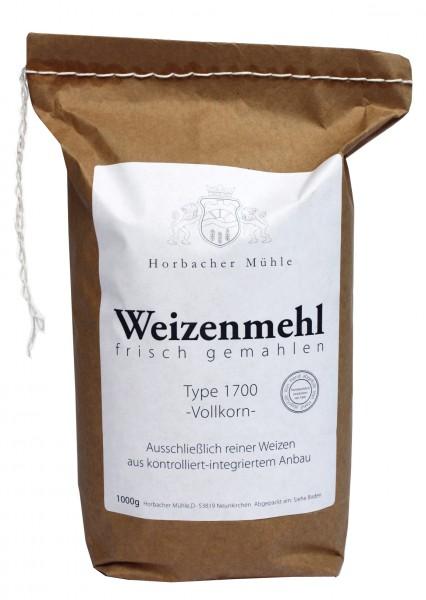 Weizenvollkornmehl Type 1700 (2kg)