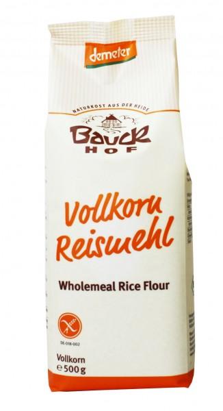 Bio Reismehl Vollkorn (500g)