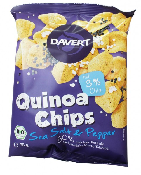 Quinoa Chips (Salt & Pepper)