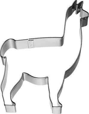 Ausstechform Lama (8,5cm)