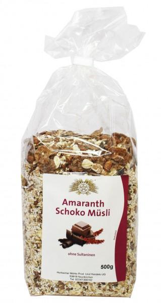 Schoko-Amaranth Müsli