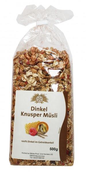 Dinkel-Knuspermüsli