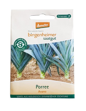 Porree Blaugrüner Winter (Bio-Saatgut)
