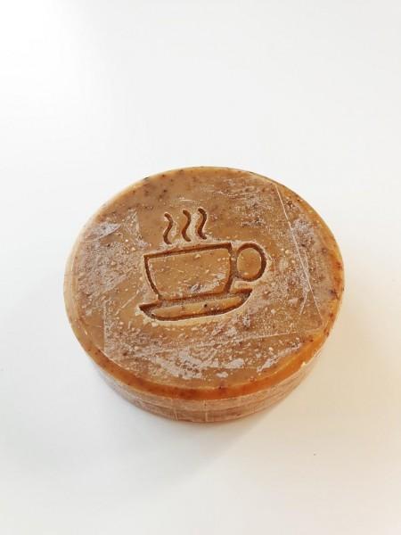Alpaka Keratinseife (Kaffee)
