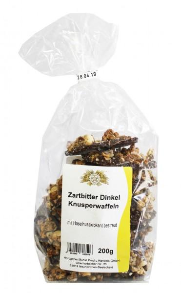 ZB Dinkel Knusperwaffeln Haselnusskrokant (200g)