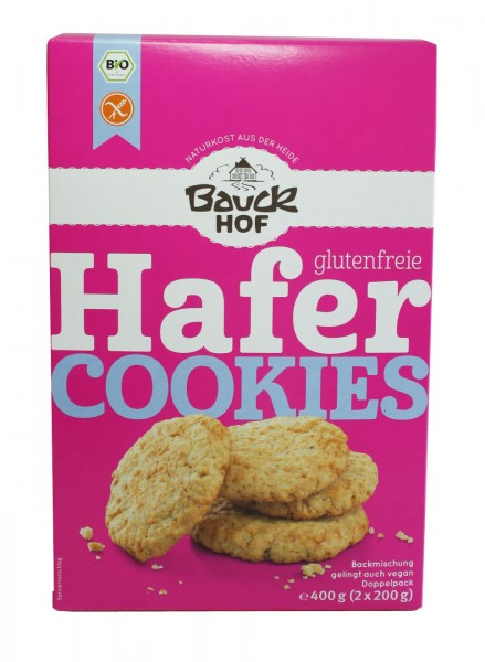 Hafer Cookies (glutenfrei)